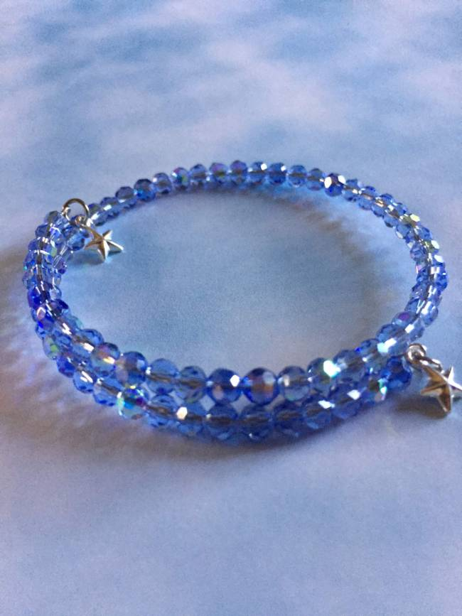 Light BLue Sky Bracelet