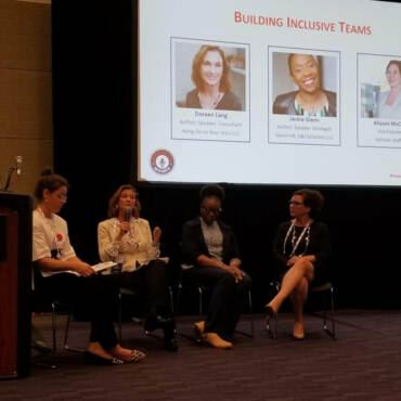 Building Inclusive Teams Panel at LiveWorx Boston